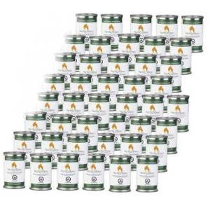 40 Can Case of Fire Pot Fuel Gel Single Use Cans by Pacific Decor – 4.75 oz photo