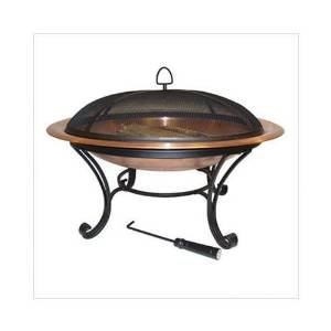 40″ Round Copper Fire Pit photo