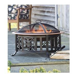 All-In-One Celtic Knot Fire Pit With Accessories photo