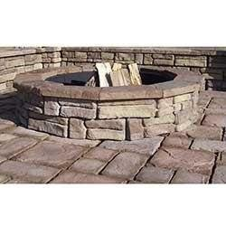 Cabot – Fire Pits Brown Random Stone