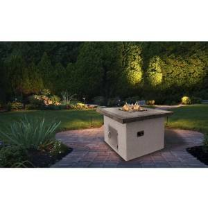 Cal Flame 48-inch Dining Height Outdoor Natural Gas Square Firepit