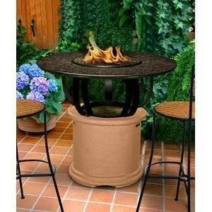 California Outdoor Concepts Bar Height Fire Pit photo