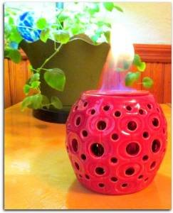 Ceramic Fire Pot photo
