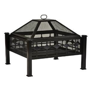 CobraCo Steel Mission Fire Pit FPSMISN-B photo