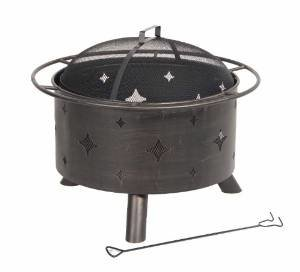 DeckMate Kay Home Product's Lantana Steel Fire Bowl photo