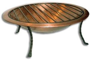 Deeco Consumer Products Royale Fire Pit, Copper photo