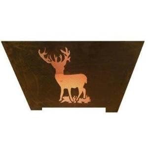 Esschert Design FF1002 Nature Scene Fire Basket photo