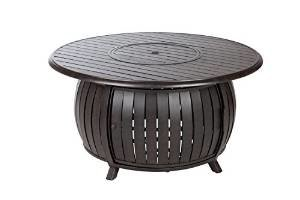 Fire Sense Extruded Aluminum Round LPG Fire Pit photo
