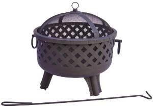 Landmann 26374 23-1/2-Inch Baton Rouge Garden Lights Fire Pit (Discontinued by Manufacturer) photo