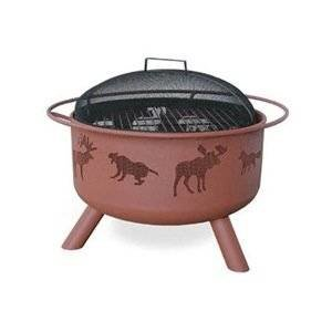 Landmann Mco Limited 28337 Landmann Big Sky Wildlife Design Firepit, 30-In. – Quantity 1 Outdoor Fireplace photo