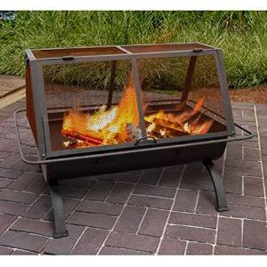 Landmann Northwoods 35 in. Rectangle Fire Pit photo