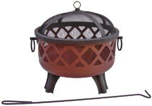 Landmann USA 26383 Garden Lights Sarasota Firepit Georgia Clay Finish (Discontinued by Manufacturer) photo