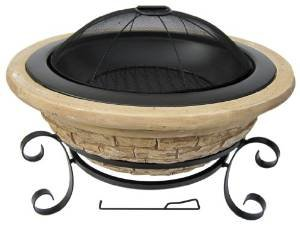 Micro World Magnesia Old Frontier Fire Pit – MW1583 photo