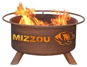 Missouri Tigers Mizzou Portable Steel Fire Pit Grill photo