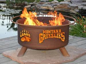 montana grizzlies fire pit photo