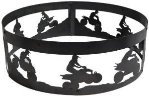 P&D Metal Works ATV Fire Pit Ring photo