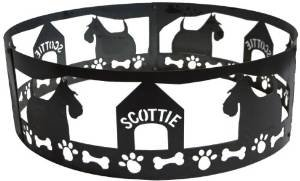 P&D Metal Works Scottie Fire Pit Ring photo