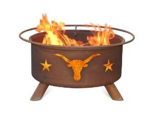 Patina F202 Texas Longhorn Fire Pit photo