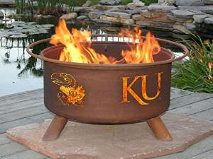 Patina F239 Kansas University Fire Pit photo