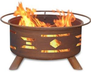 30 Inch Mosaic Santa Fe Fire Pit photo