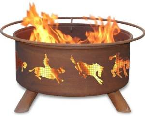 30 Inch Western Fire Pit photo