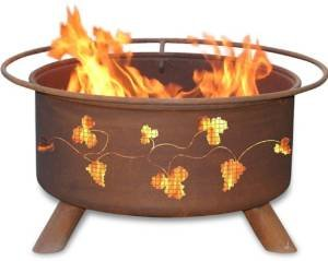 Patina Products F111,  30 Inch Grapevines Fire Pit photo