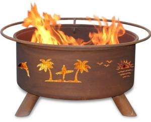 Patina Products F117,  30 Inch Pacific Coast Fire Pit photo