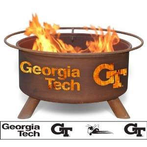 Georgia Tech Fire Pit photo