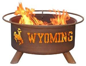 Patina Products F236 University of Wyoming Fire Pit photo