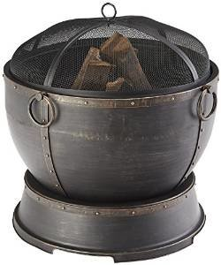 Pleasant Hearth Athena Deep Bowl 28″ Fire Pit photo
