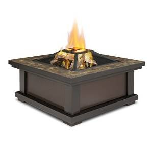 Real Flame 910-BK Alderwood Burning Fire Pit photo