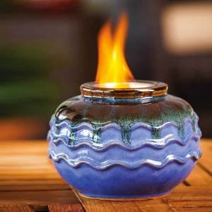RIVERS EDGE Fireside Firepot by Evergreen photo