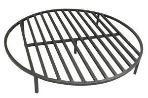 "Round Fire Pit Grate 36"" Heavy Duty Grill Cooking Campfire Camp Ring 1/2″ Steel photo"