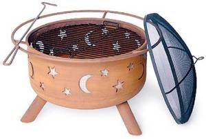 Sojoe 32SM Star and Moon Steel Fire Pit photo