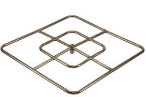 Square Natural Gas Fire Pit Burner, 24×24-Inch photo
