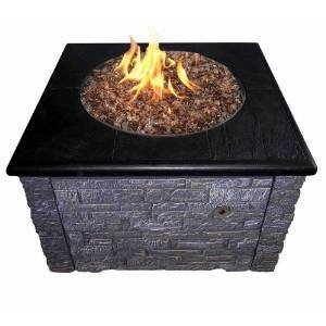 Stacked Stone Firepit Kit – 36″ photo