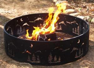 Steel Wilderness Fire Ring photo