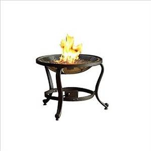 The Outdoor GreatRoom Company Tripod Fire Pit with Crystal Fire Burner (Discontinued by Manufacturer) photo