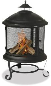 Uniflame WAF901SP 41.6-Inch H Bronze Outdoor Firehouse (Discontinued by Manufacturer) photo