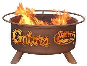 University of Florida Gators Portable Steel Fire Pit Grill photo