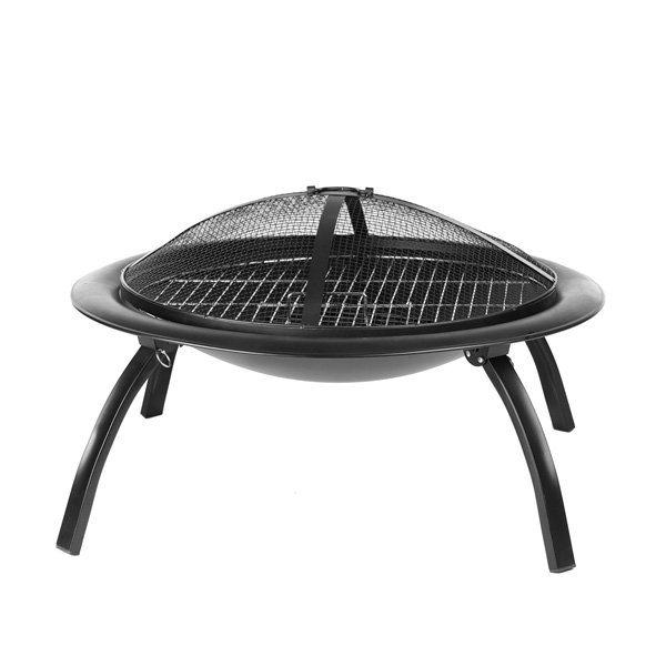 AmazonBasics Portable Folding Fire Pit, 26-Inch photo