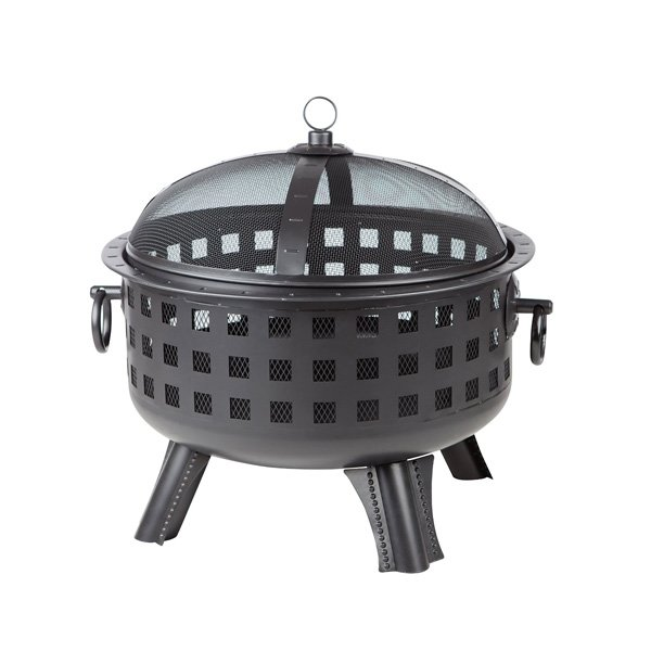 AmazonBasics Lattice Fire Pit, 23-1/2-Inch photo
