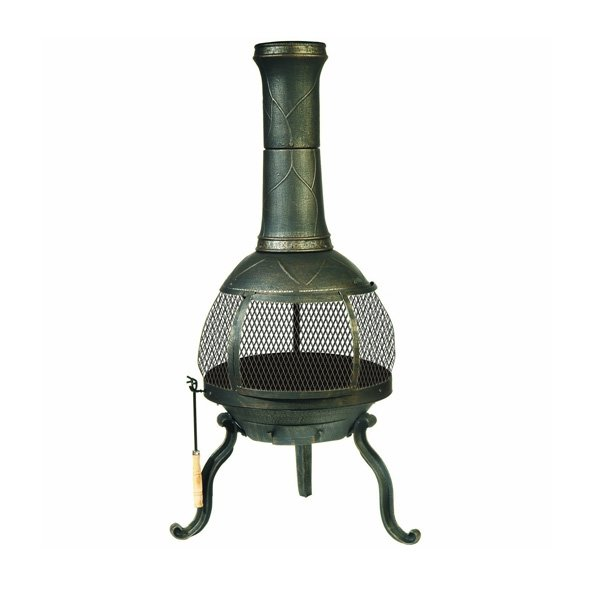 DeckMate Sonora Outdoor Chimenea Fireplace photo