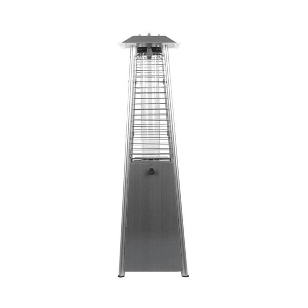 Garden Radiance GRP1000SS Glass Pyramid Table Top Patio Propane Heater – Stainless Steel photo
