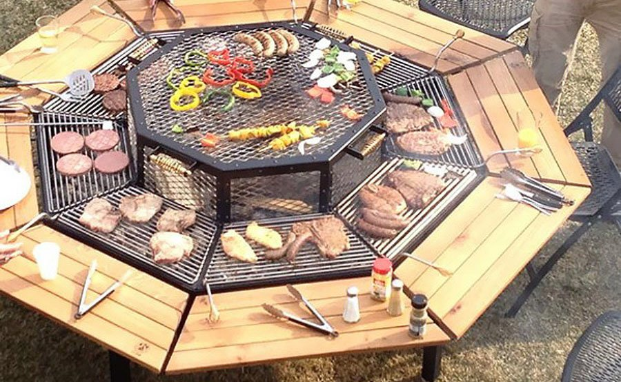 the ultimate backyard fire pit grill combo fire pit ideas