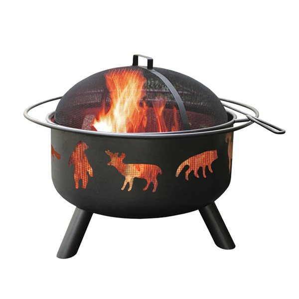 Landmann USA 28347 Big Sky Fire Pit, Wildlife photo