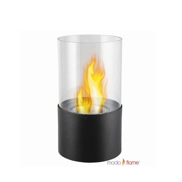 Moda Flame Lit Table Top Firepit Bio Ethanol Ventless Fireplace photo