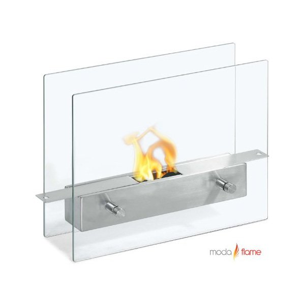 Moda Flame Ibiza Ventless Tabletop Bio Ethanol Fireplace photo
