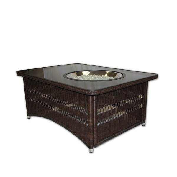 Outdoor Greatroom Naples Chat Height Gas Fire Pit Coffee Table Fire Pit Ideas