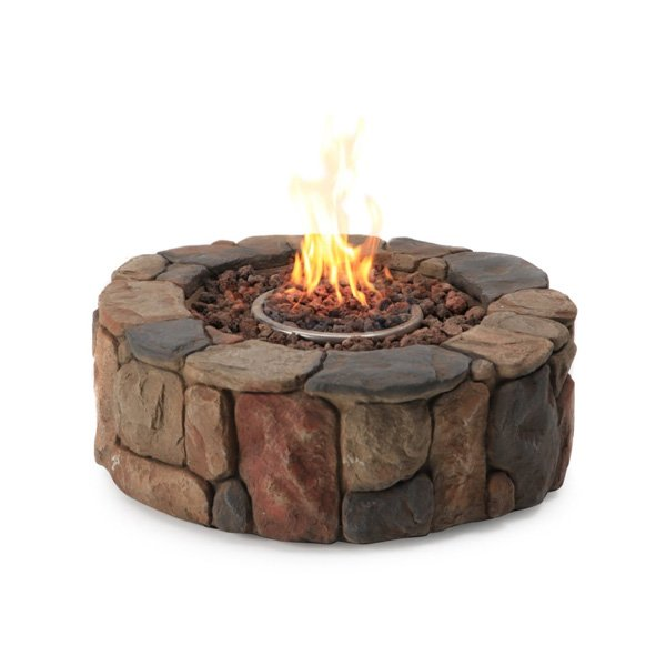 Red Ember 28 in. Clarksville Propane Campfire Fire Pit photo